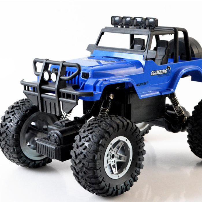 1:18 4WD Off-Road Remote Control Vehicle RC Rock Crawler Truck Toy