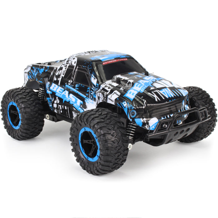 RC Car, 1:16 2.4 Ghz 2WD RC Trucks High-speed Remote Control Racing Climbing Car Kit for Adults & Kids