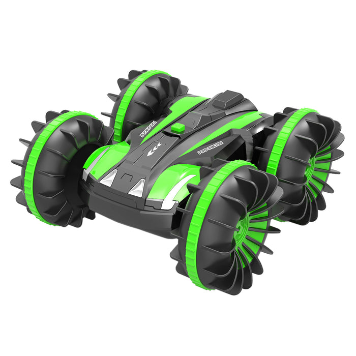 Remote Control Car Boat Truck 4WD 6CH 2.4Ghz Land Water 2 in 1 RC Toy Car Multifunction Waterproof Stunt 1:16 Remote Vehicle with Rotate 360 Electric Car Toy