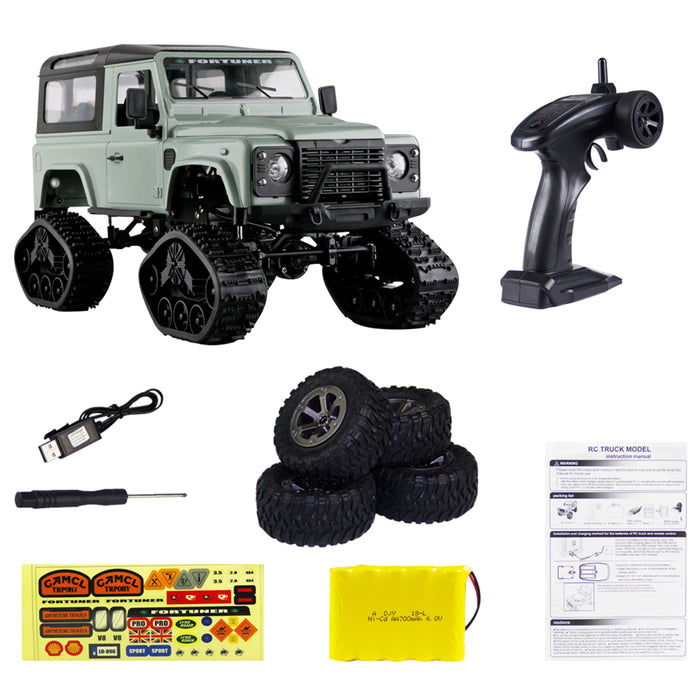 Remote Control Cars >> Rc Cars Rc Remote Control Car 1 16 2 4g 4wd Cross Country Car Snow Climbing Car Rc Remote Control Car Toy With 2 Kinds All Terrain Crawler Wheels