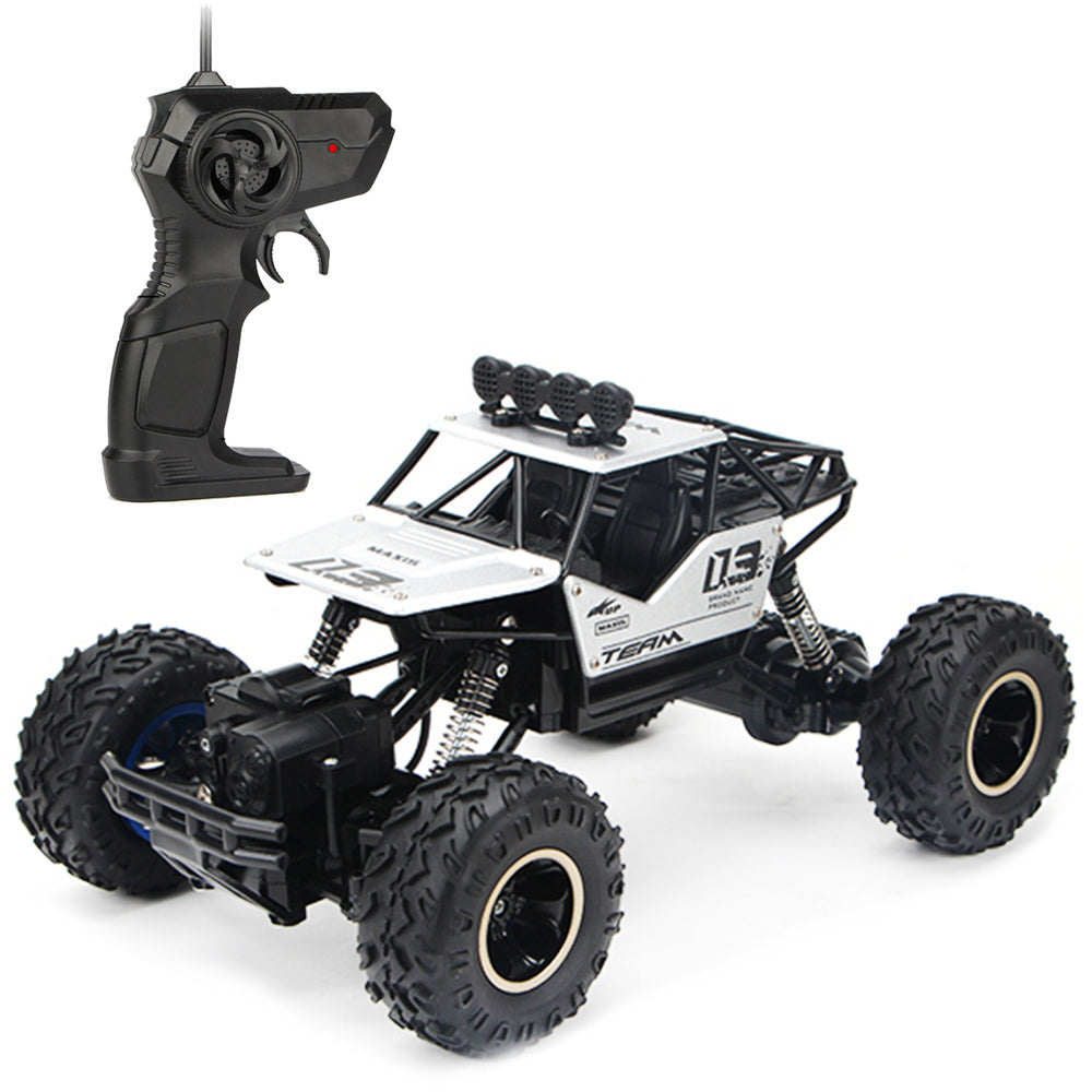 RC Car, 1:16 2.4 Ghz 4WD RC Trucks High-speed Remote Control Off-road Vehicle Racing with Dual Motor