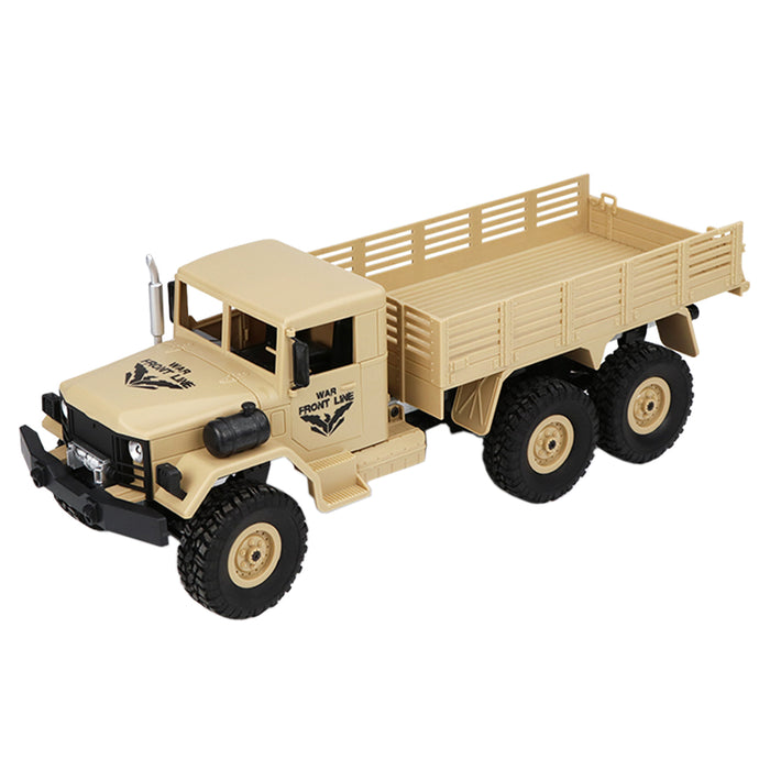 RC Military Truck 1:16 2.4G 6WD Climbing Car Off-road Vehicle RC Military Model Car Toy