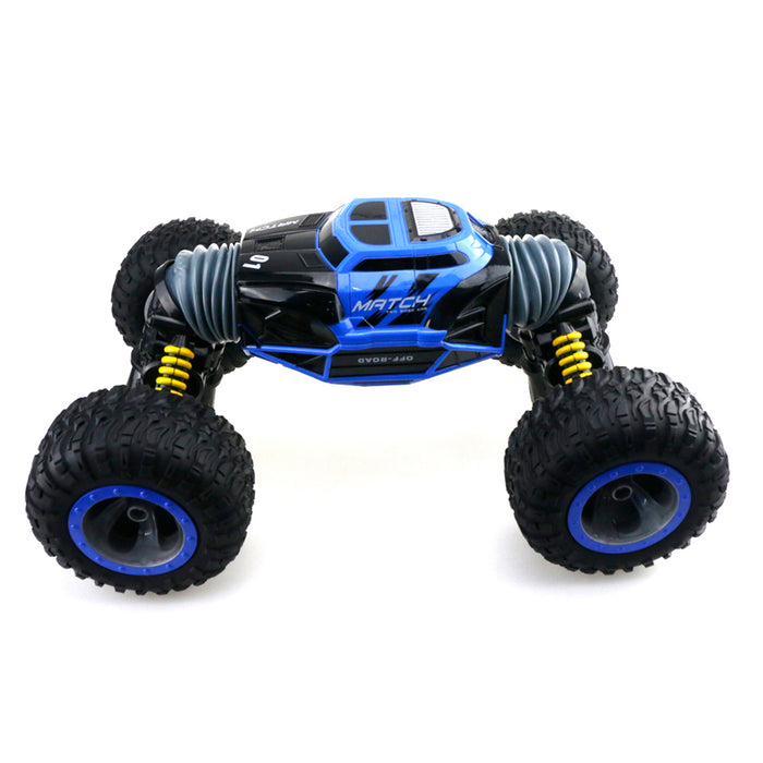 RC Car Off-Road Vehicles Rock Crawler 2.4Ghz 1:8 Remote Control Car Monster Truck 4WD Dual Motors Electric Racing Car, Kids Toys RTR Rechargeable Buggy Hobby Car