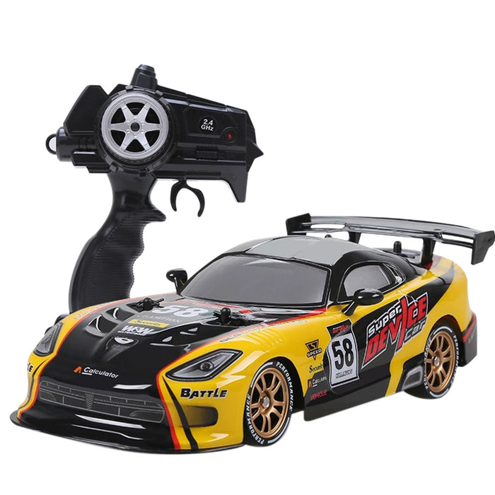 Rc Car 2.4Ghz 4WD Drift High Speed Remote Control Car Remote Control Racing Car Toy for Kids