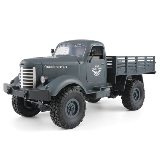 RC Military Truck -Radio Control 1/16 All Terrain Remote Control Military Truck 2.4Ghz 4WD RTR Controller Electric RC Off Road Trucks Vehicle Rechargeable Batteries Great Gift for Kids Boys