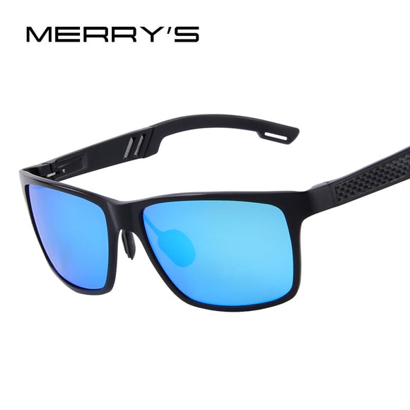 df1d0ad9d6 MERRY S Men Aluminum Polarized Sunglasses Mirror Sun Glasses Glasses Oculos  de sol UV400 6560