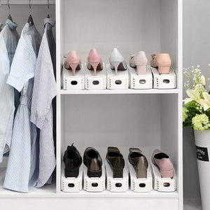 Double Deck Shoe Rack - A Space Saving Storage Solution