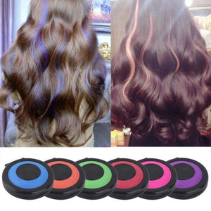 Magic Hair Coloring Chalk 6pcs Set