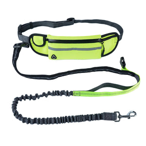 Outdoor Running Hand-Free Retractable Dog Belt
