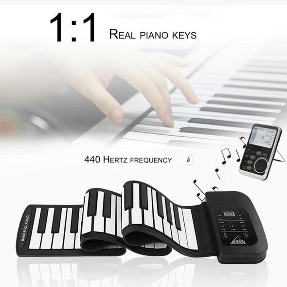 [Limited Sale!]Portable Roll-Up Flexible Electronic Piano Keyboard