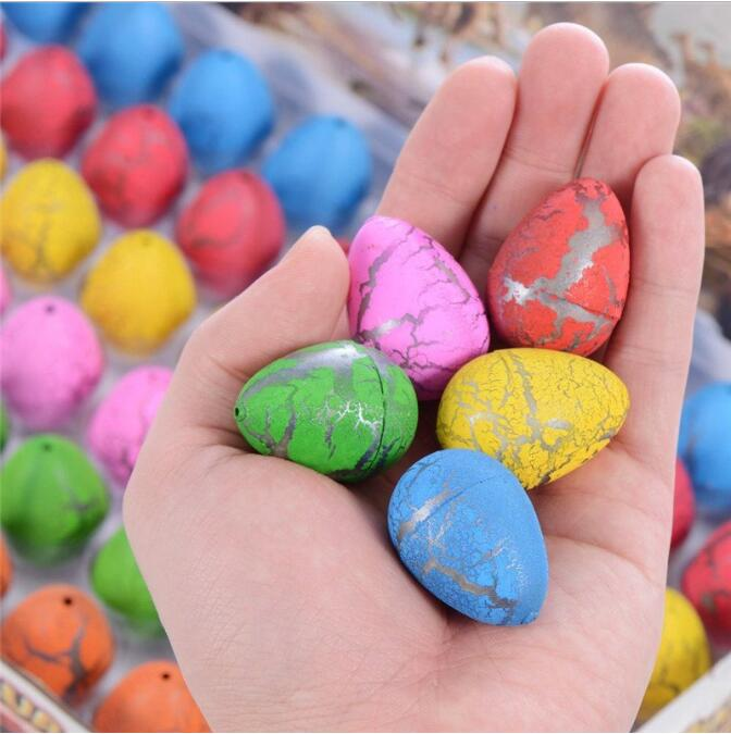 Novelty Mini Colorful Dinosaur Eggs Hatching Toys - 60PCS