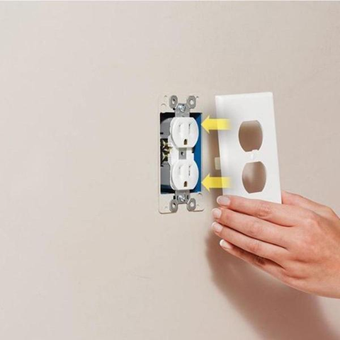 Pre Salethe Lowest Priceoutlet Wall Plate With Led Night Lights