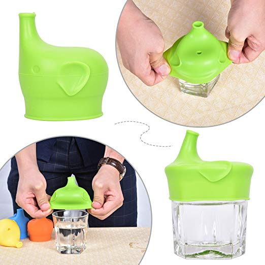 HOT SALE!!!Silicone Spill-Proof Sippy Cup Lid for Toddlers