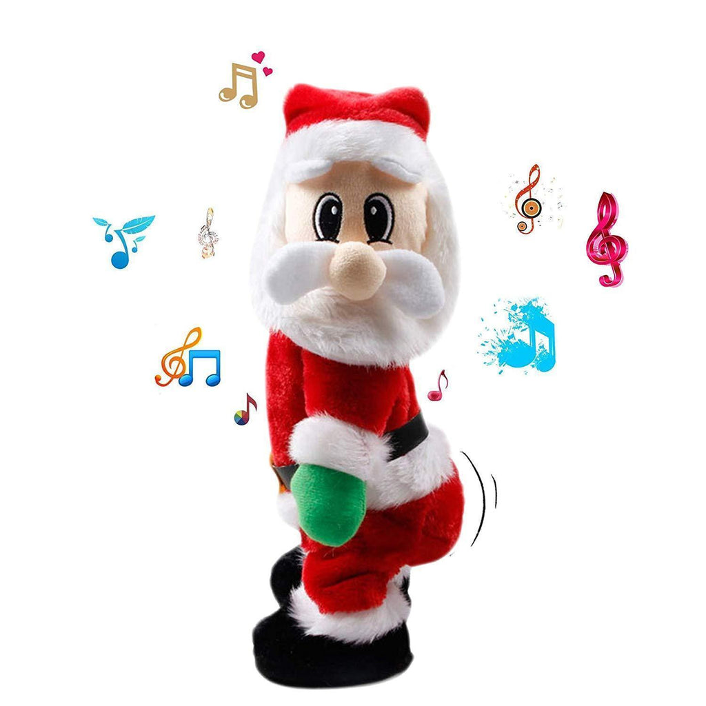Shaking Hips Santa Claus Singing Dancing Electric Dolls