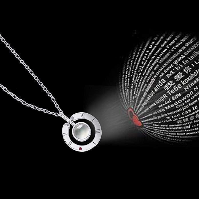 eternal 100 languages love necklace valentines day unique gifts at wrap this wish silver necklace