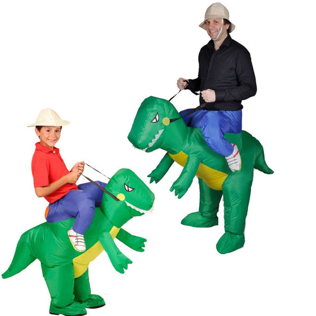 Dinosaur Inflatable Costume T-Rex Fancy Dress