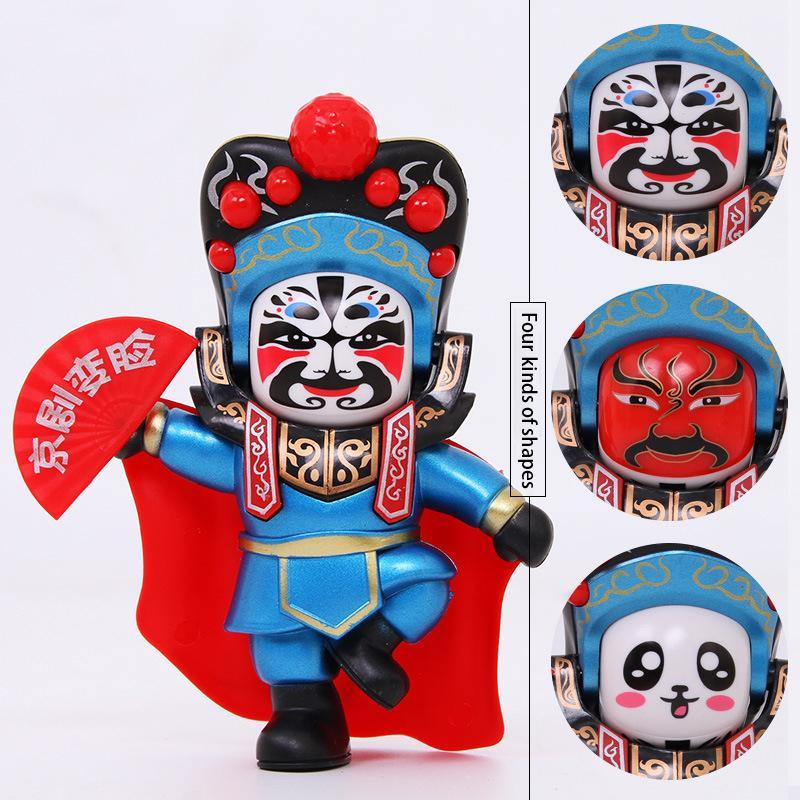 Tradition Culture Sichuan Opera Face Changing Doll Figure Toy