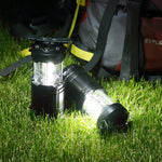 Camp Lantern COB Lights - Changing Flame Light & White Light