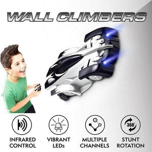 【Today's Hot Style】Wall Climbing RC Car