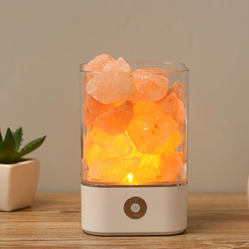 FREE SHIPPING - Himalayan Crystal Salt Lamp