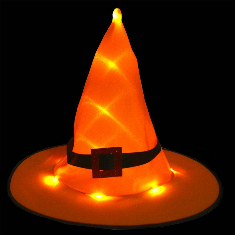Halloween LED Witch Hat