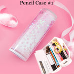 Pencil Case - Flowing Sparkling Sakura