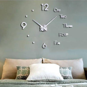 DIY Living Room Large Wall Clock