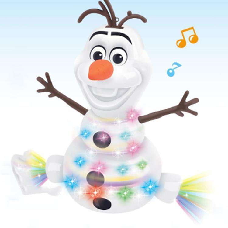 Dancing Music Snowman Toy
