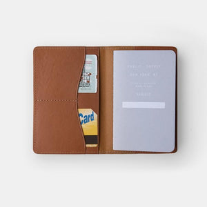 "3.5x5.5"" - Leather Notebook Cover"