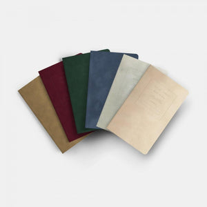 "5x8"" - Soft Cover Notebook Box Set - Velvet Collection"