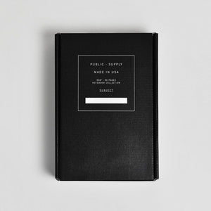 "5x8"" -  Soft Cover Notebook Box Set - Embossed Collection Series 2 (Dark)"