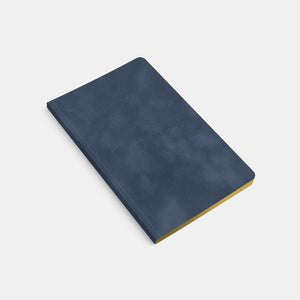 "5x8"" - Soft Cover Notebook - Velvet - Gilded Edge"