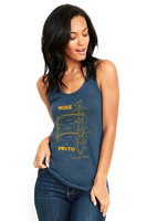 Womens' Outrigger Black Tank Top
