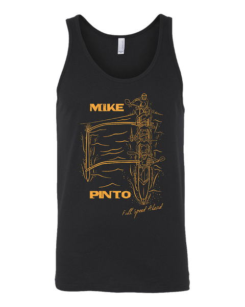 Mens' Black Outrigger Tank Top