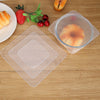 Image of 4Pcs Silicone Bowl Covers
