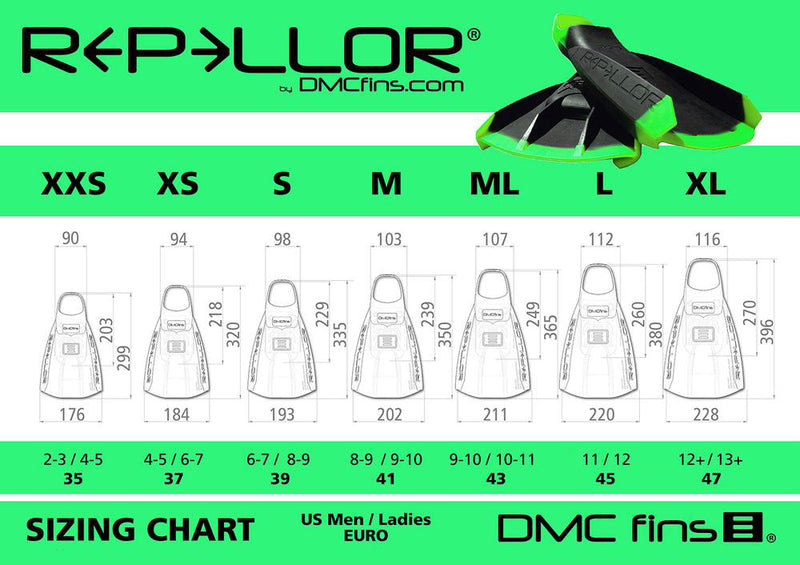 REPELLOR FIN - UV Colour Change Lemon