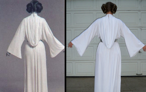 Princess Leia Costume | Epic Star Wars Costumes For Your May The 4th At Home Party | Sewing | easiest star wars costume