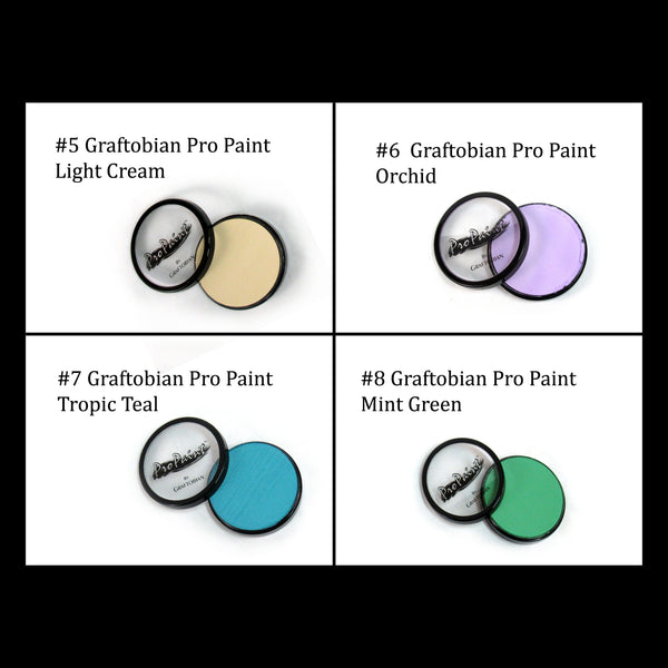 Graftobian Pro Paint SILICONE Twi'lek Headpieces - Medium Length