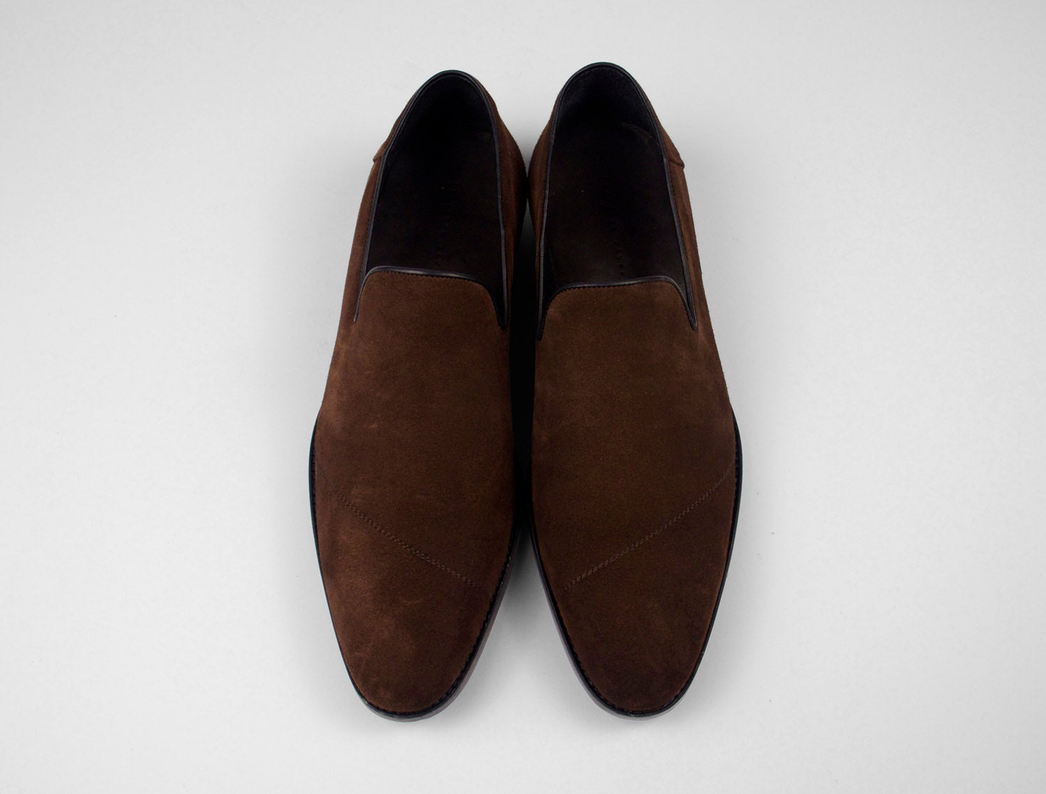 Slip-on in Chocolate Suede