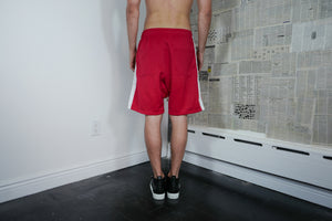 Trainer Shorts in Red