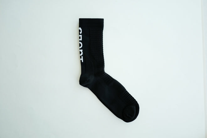Black 'SPORT' Socks