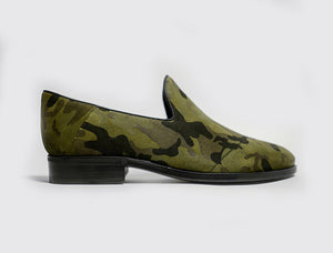Slip-on in Camo Suede
