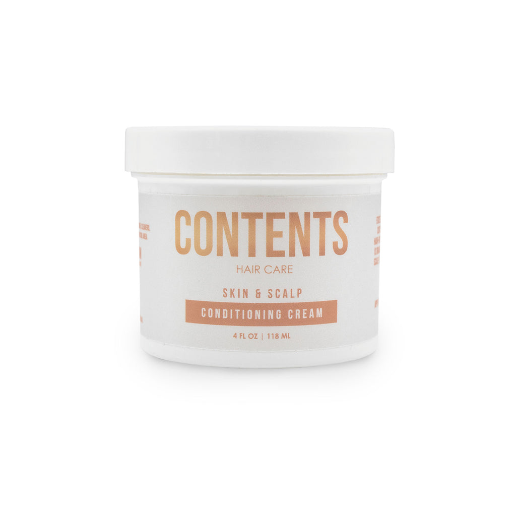 Enriched with restorative antioxidants and natural emollients. Contents Skin & Scalp Conditioning Cream is excellent for improving hair and skin elasticity, healing damaged cuticle which help improved moisture retention, increased softness and dramatic hair growth.