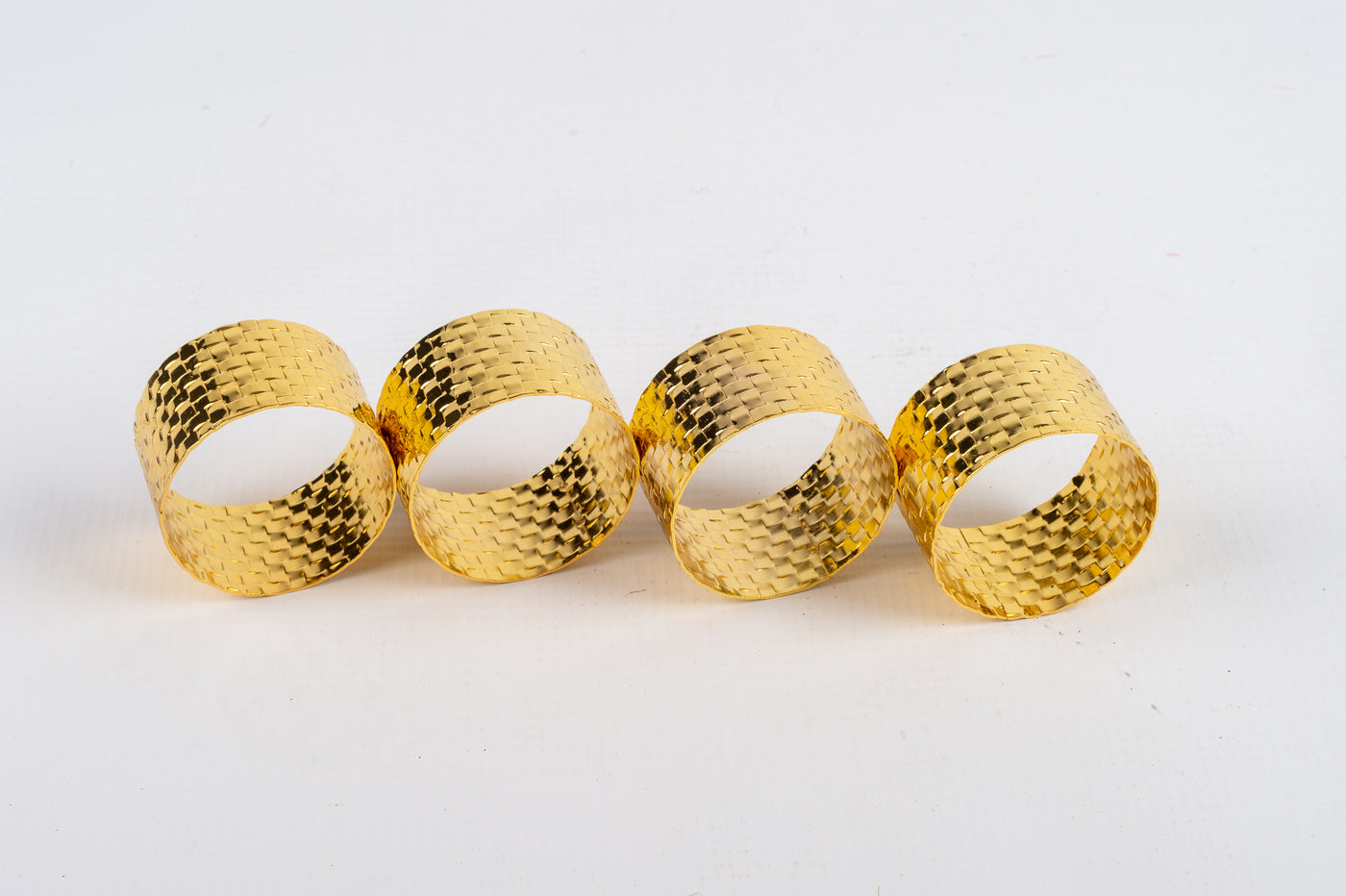 Napkin Ring s/4 Gold