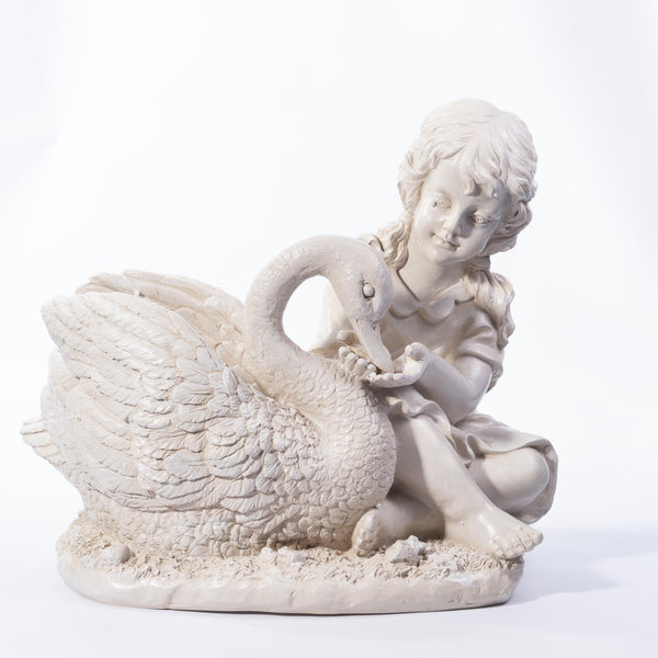 Angel with Swan