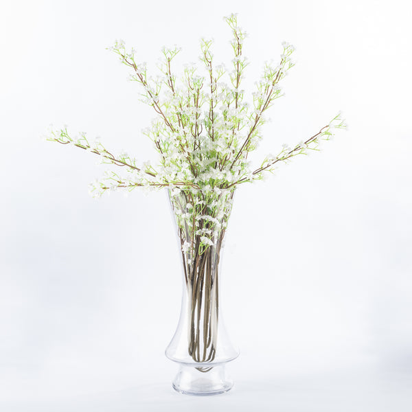 Footed Tapered Vase - 29cm