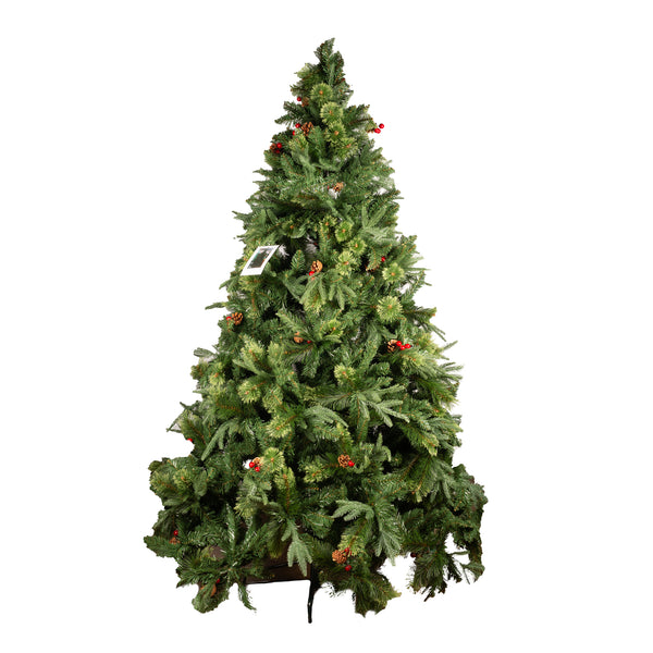 Christmas Tree Berry & Cone - 3m