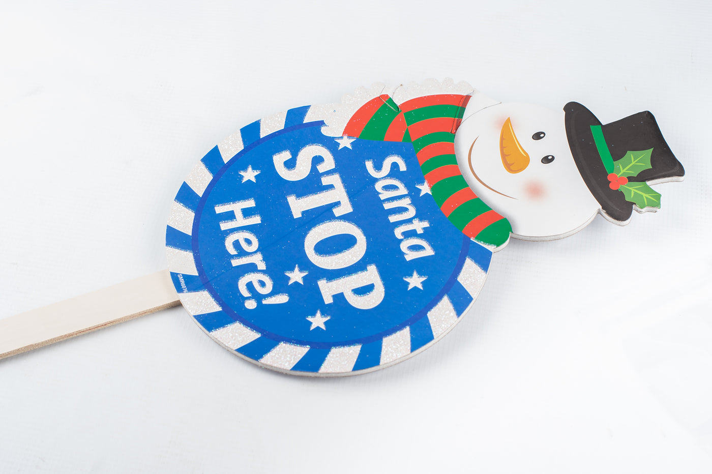 Pick Xmas With Round Sign 73.5cm
