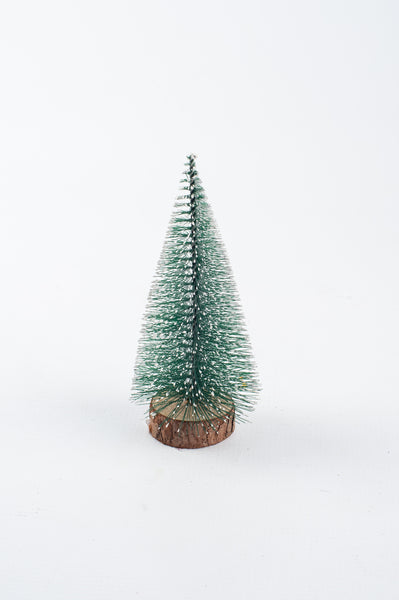 Christmas-Green Spikey Xmas Tree 15cm