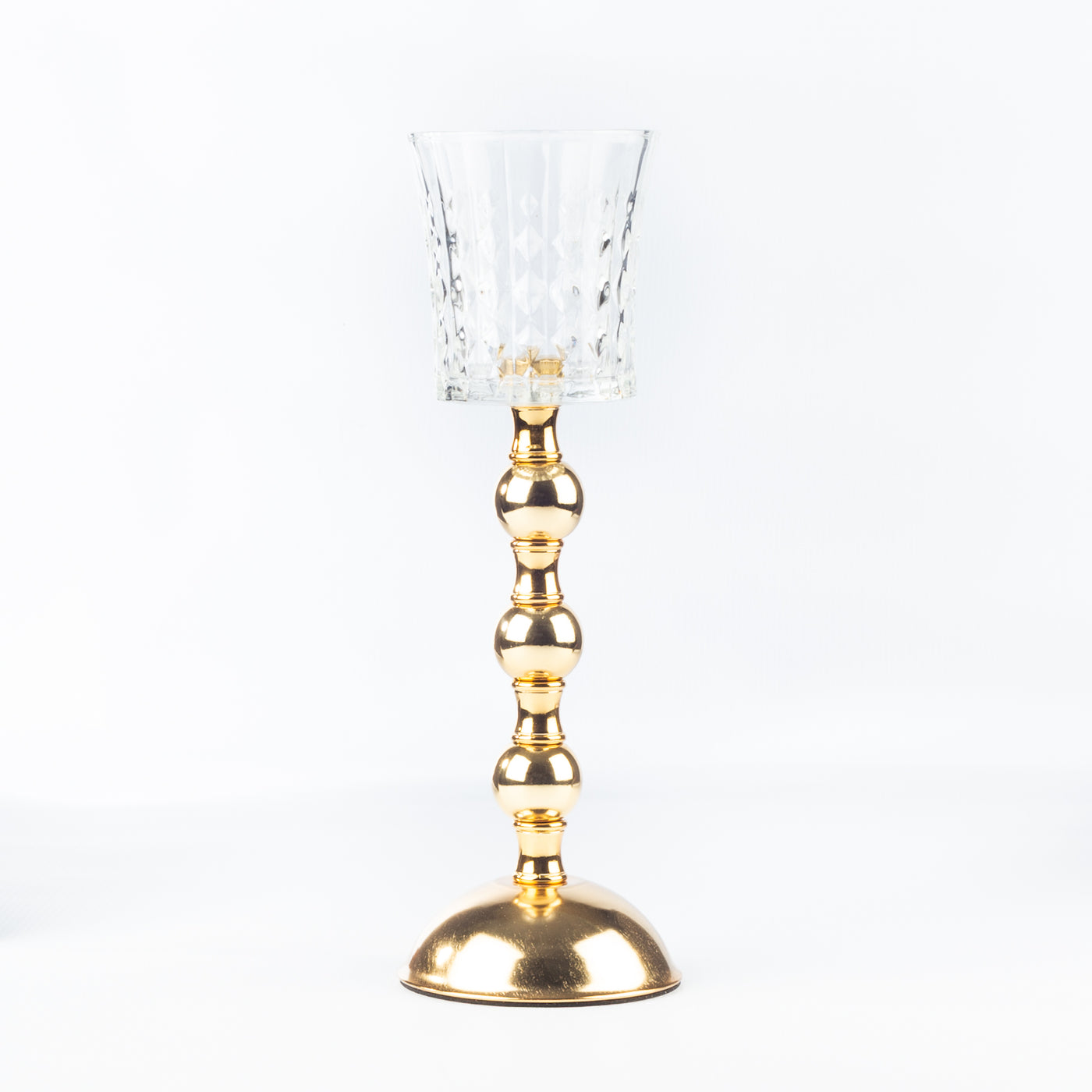 Candle Holder With Ball - Medium